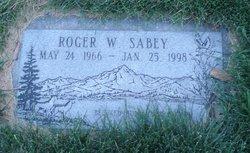 Roger William Sabey