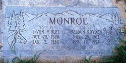 Lavon Violet <I>Campbell</I> Monroe