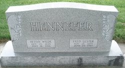 Afton <I>Wilde</I> Hennefer