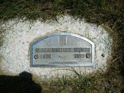Clara Whitney Wright