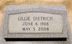 Lillie Louise <I>Meinecke</I> Dietrich