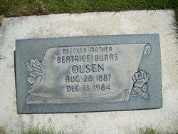 Beatrice <I>Burns</I> Olsen