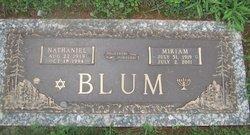 Nathaniel Blum