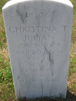 Christina T <I>Fitzpatrick</I> Julian