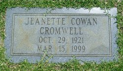 Jeanette <I>Cowan</I> Cromwell