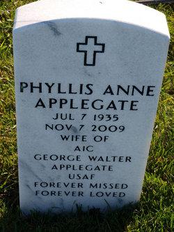 Phyllis Anne <I>Elliott</I> Applegate