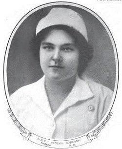 Nurse Genevra Robinson