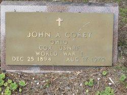 John Arnold Corey