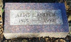 Ardis Eleanor <I>Clark</I> Ankrum