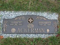 Margaret E <I>Bauer</I> Ackerman