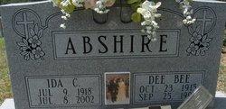 Ida Burke <I>Charlton</I> Abshire