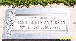 Bessie <I>Bower</I> Anderson