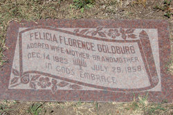 Felicia Florence <I>Kaufman</I> Goldburg