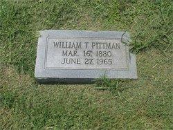 William T Pittman, Sr