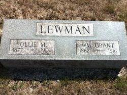 Ollie M. <I>Roberts</I> Lewman