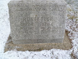 Mary Alice <I>Zook</I> Hostetler