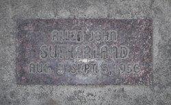 Allen John Sutherland