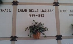 Sarah Belle <I>Brody</I> McCully