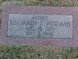 Benjamin Franklin Bowman