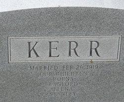 Mettie Ren <I>Sims</I> Kerr