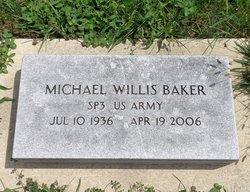 """Michael Willis """"Shaker"""" Baker"""