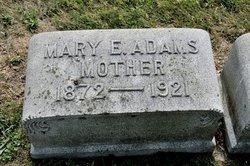 Mary E. <I>Whitmyer</I> Adams
