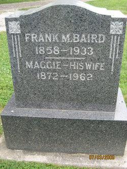 "Margaret ""Maggie"" <I>Barkley</I> Baird"