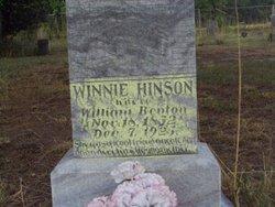 Winnie <I>Hinson</I> Benton