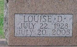Louise D. <I>Wilber</I> Adams