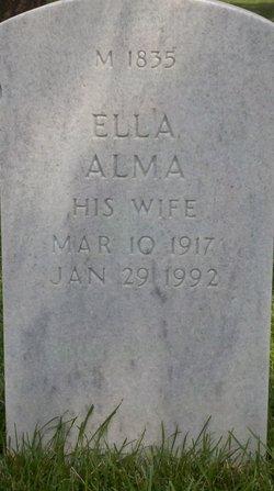 Ella Alma <I>Kuhlman</I> Six