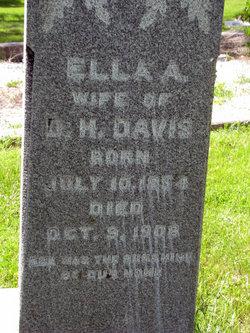 Ella A <I>Bond</I> Davis