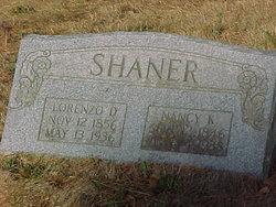 Nancy Catherine <I>Dennis</I> Shaner