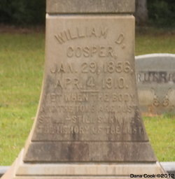 William D Cosper