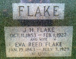 "Charity Eva ""Eva"" <I>Reed</I> Flake"