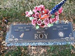 """Ruby """"Rusty"""" <I>McDaniel</I> Roy"""