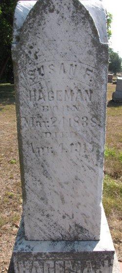 Susan F <I>Stout</I> Hageman