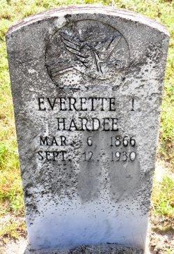 Everette Tallie Hardee