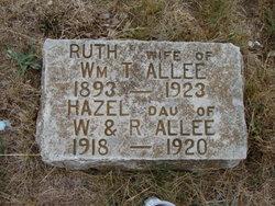 Ruth V. <I>Hicks</I> Allee