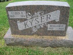 Marjorie June <I>Hilliah</I> Kyser