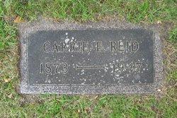 Carrie Evelyn <I>Flansburg</I> Reid