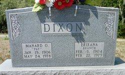 """Manard Omar """"Pat"""" Dixon"""