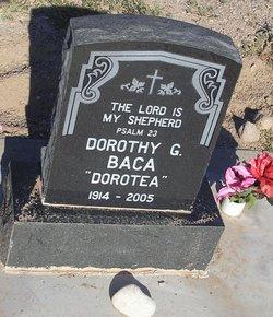 Dorothy G Baca