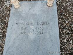 Myrle <I>Sloan</I> Daniels