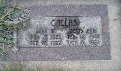 John M Callas
