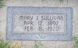 """Mary Jenett """"Jenny"""" <I>Cook</I> Sullivan"""