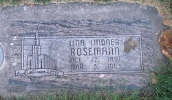 Lina <I>Lindner</I> Rosemann