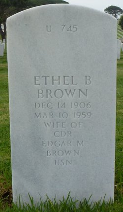 Ethel Bernadette <I>Riedy</I> Brown
