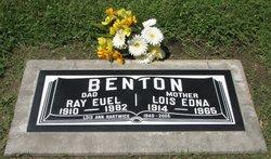 Lois Edna <I>Haslam</I> Benton