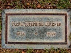"Sarah Josephine ""Sadie"" <I>Trask</I> Learned"