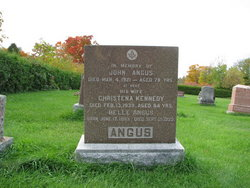Christena <I>Kennedy</I> Angus